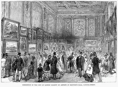 London: Exhibition, 1880 Art Print by Granger