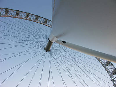 Photograph - London Eye 2 by Roger Mullenhour