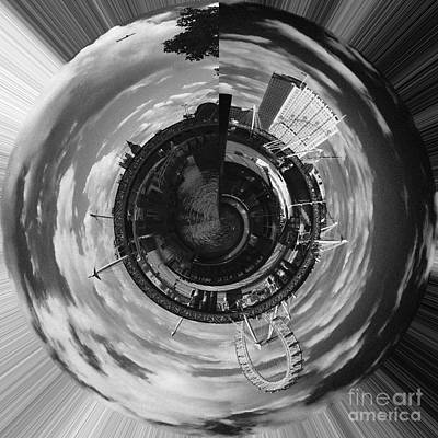 Photograph - London Eye Planet by Agusti Pardo Rossello
