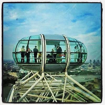 Skylines Wall Art - Photograph - London Eye by Gianluca Sommella