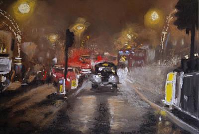 London Fog 1 Art Print by Paul Mitchell