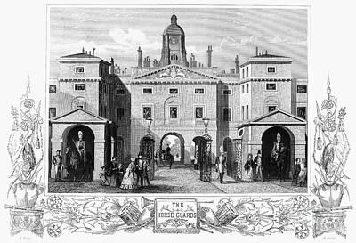 London: Horse Guards Art Print by Granger