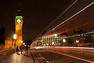 Photograph - London Lights by Adam Pender