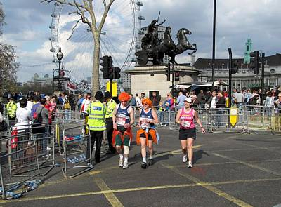 Photograph - London Marathon by Keith Stokes