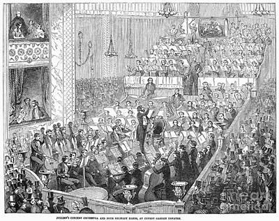 London: Orchestra, 1846 Art Print