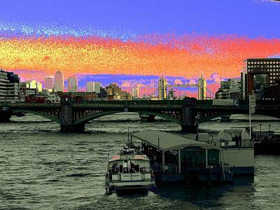 Photograph - London Psychedelic by Rdr Creative