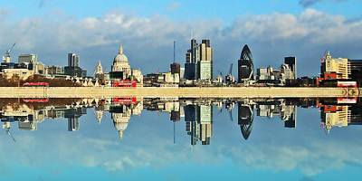 London Skyline Photograph - London Skyline by Sharon Lisa Clarke