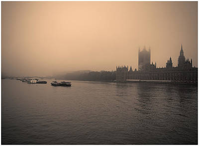 Photograph - London Smog/fog by Lenny Carter