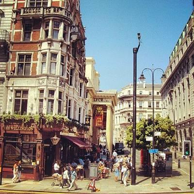 Colour Photograph - London Streets, #street #streetphoto_bw by Abdelrahman Alawwad