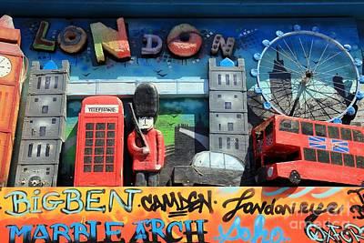 London Symbols Art Print by Sophie Vigneault