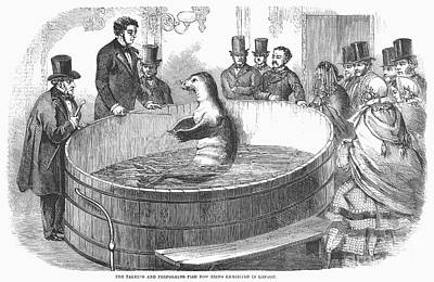 London: Talking Fish, 1859 Art Print by Granger