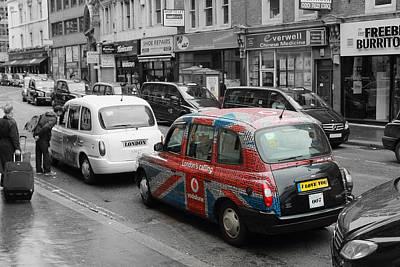 London Taxi  Art Print by Steve K