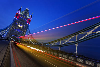 Gb Photograph - London Tower Bridge by Nina Papiorek