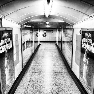 London Photograph - London Undergrounds! #london by Abdelrahman Alawwad