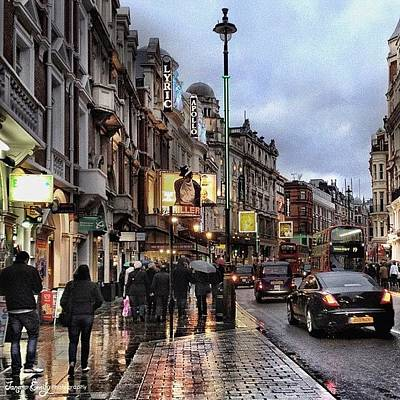 Musical Photograph - London West End Theatre District by Jane Emily