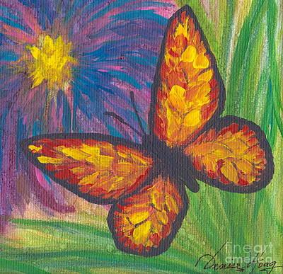 Lone Butterfly Art Print