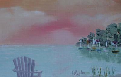 Kugler Painting - Lone Chair by Scott Kugler