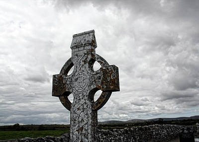 Photograph - Lone Cross by Julie Williams