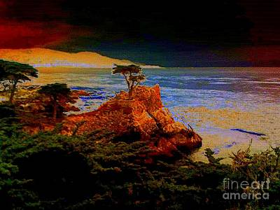 Photograph - Lone Cypress by Angela L Walker