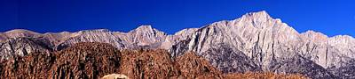 Photograph - Lone Pine Peak Panorama by Michael Courtney