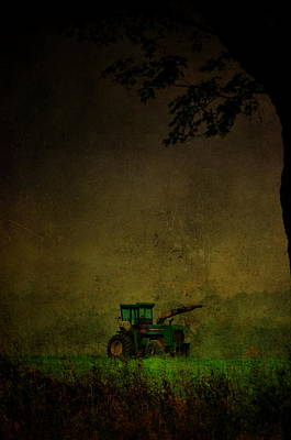 Photograph - Lone Tractor by Emily Stauring