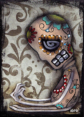 Loneliness Art Print by  Abril Andrade Griffith