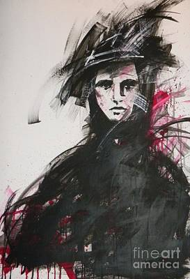 Women Painting - Loneliness by Andreea Marian