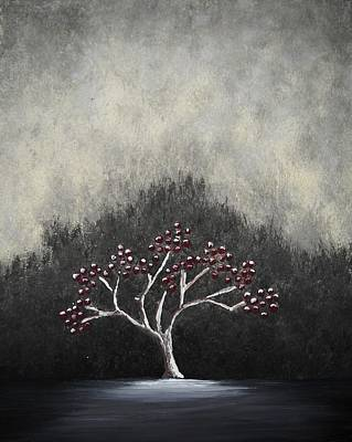 Art Print featuring the painting Lonely by Edwin Alverio