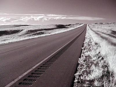 Photograph - Lonely Highway by HW Kateley
