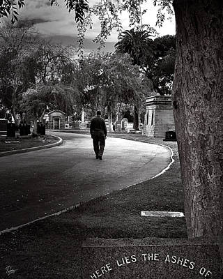 Photograph - Lonely Road by Endre Balogh