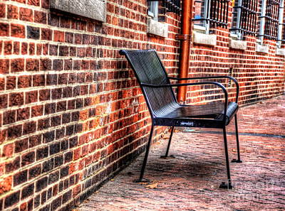 Lonely Seat Art Print by Debbi Granruth