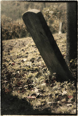 Lonely Stone Art Print by Mark Wagoner