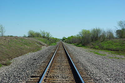 Photograph - Lonely Tracks by Robyn Stacey