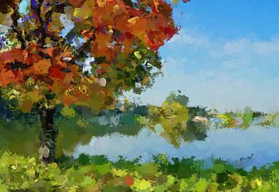 Lonely Tree Art Print by Yury Malkov