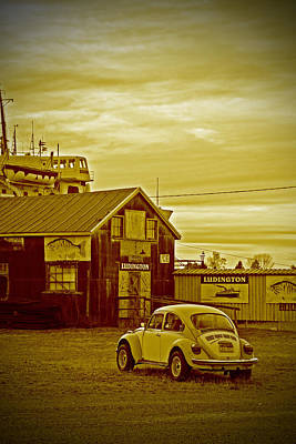 Art Print featuring the photograph Lonely Vw by Randall  Cogle