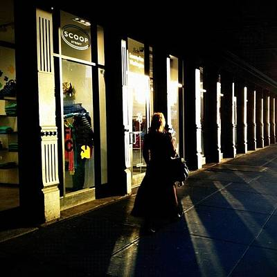 Street Photograph - Lonely Winter Afternoon On Chelsea by Joel Lopez