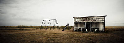 Photograph - Lonesome Playground by RicharD Murphy