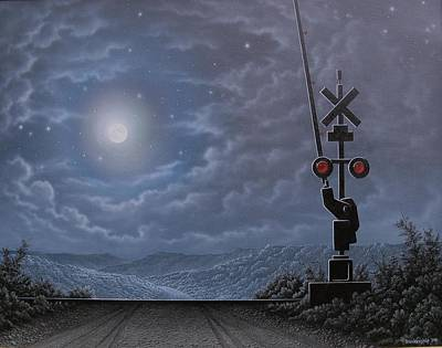 Lonesome Whistle Art Print by Arley Blankenship