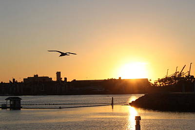City Photograph - Long Beach II by Caroline Lomeli