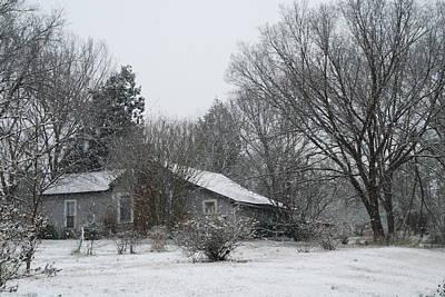 Macro Photograph - Long Hard Winter by Kelly Rader