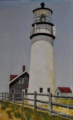 Photograph - Long Island Head Lighthouse by John Black