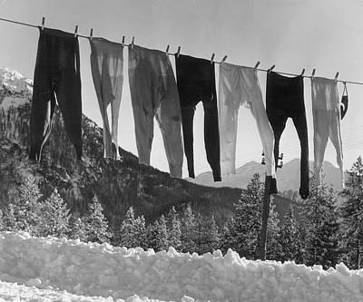Graubunden  - Long Johns by Kurt Hutton