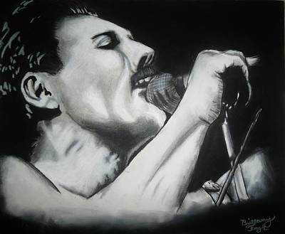Hall Of Fame Drawing - Long Live The Legend by Brittany Frye
