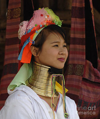 Hill Tribe Photograph - Long Necked Woman 3 by Bob Christopher