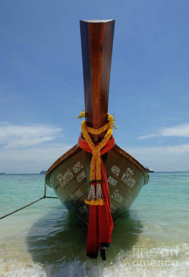 Photograph - Long Tail Boat Thailand by Bob Christopher