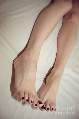 Long Toe Lover Art Print by Tos Photos