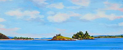 Painting - Long View From Eastport by Sarah Gayle Carter