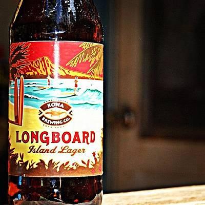 Beer Wall Art - Photograph - Longboard by Jessica Daubenmire