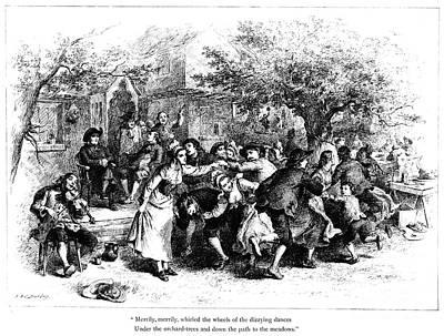 Longfellow: Evangeline Art Print by Granger