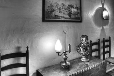 Longfellows Wayside Inn Art Print by Lee Fortier